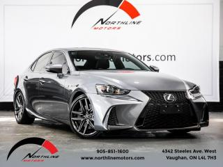 Used 2017 Lexus IS 350 AWD|F-Sport Series 2|Navigation|Red Leather|Blindspot for sale in Vaughan, ON