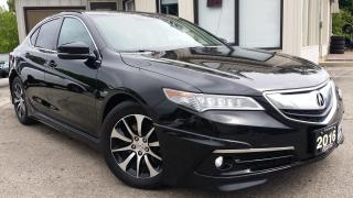Used 2016 Acura TLX 8-Spd DCT w/Technology Package - LEATHER! NAV! BACK-UP CAM! BSM! for sale in Kitchener, ON