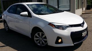 Used 2015 Toyota Corolla S - BACK-UP CAM! HEATED SEATS! ACCIDENT FREE! for sale in Kitchener, ON