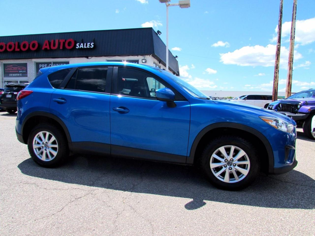 used 2013 mazda cx-5 sport awd skyactiv auto bluetooth alloys certified for sale in milton, ontario carpages.ca