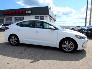 Used 2017 Hyundai Elantra LIMITED CAMERA BLUETOOTH CERTIFIED for sale in Milton, ON