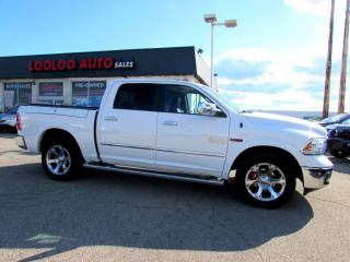 Used 2015 RAM 1500 LARAMIE LONGHORN CREW CAB 4WD ECO DIESEL NAVI CAMERA CERTIFIED for sale in Milton, ON