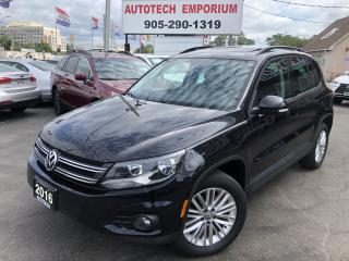 Used 2016 Volkswagen Tiguan SE 4motion AWD Navigation/Pano Sunroof/Heated Seats for sale in Mississauga, ON