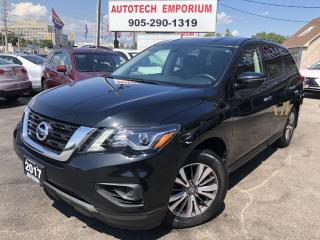 Used 2017 Nissan Pathfinder S Camera/7-Passenger/Alloys&GPS* for sale in Mississauga, ON