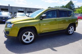Used 2012 Jeep Compass 4WD NORTH CERTIFIED 2YR WARRANTY HEATED SEATS ENGINE R START CRUISE ALLOYS AUX for sale in Milton, ON