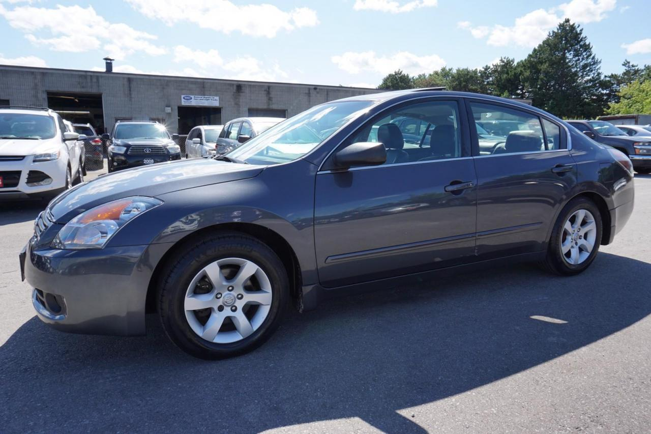 used 2009 nissan altima sl certified 2yr warranty 1 owner free accident sunroof bluetooth heated leather hitch for sale in milton, ontario carpages.ca