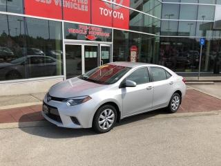 Used 2016 Toyota Corolla LE for sale in Surrey, BC