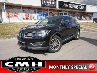 Used 2017 Lincoln MKX Select  ROOF NAV CAM P/SEAT RAIN-SENS 18-AL for sale in St. Catharines, ON