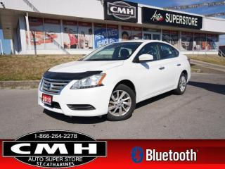Used 2015 Nissan Sentra SV  CAM HS BT ALLOYS PWR GROUP for sale in St. Catharines, ON