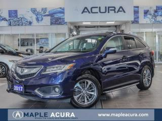 Used 2017 Acura RDX Elite, Front & Back parking sensors. One Owner for sale in Maple, ON
