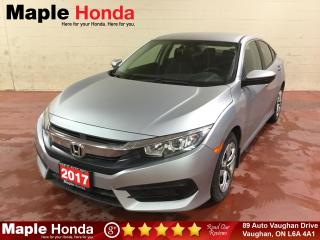 Used 2017 Honda Civic LX| 24,672 KM| Backup Cam| for sale in Vaughan, ON