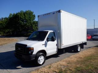 Used 2015 Ford Econoline E-450 16.5 Foot Cube Van With Power Tail Gate for sale in Burnaby, BC