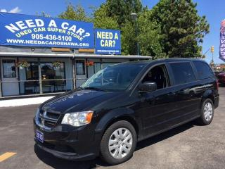 Used 2015 Dodge Grand Caravan SE/SXT for sale in Oshwa, ON