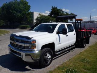 Used 2015 Chevrolet Silverado 3500HD Crew Cab  9 Foot Flat Deck Traffic control Signals for sale in Burnaby, BC