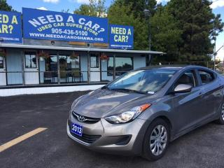 Used 2013 Hyundai Elantra GL for sale in Oshwa, ON