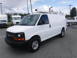 Used 2014 Chevrolet Express 2500 Cargo With Ladder Rack for sale in Burnaby, BC