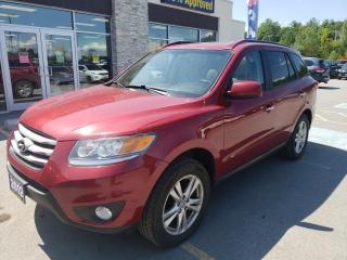 Used 2012 Hyundai Santa Fe Limited 3.5 V6 AWD Leather Cruise Bluetooth Heated for sale in Trenton, ON