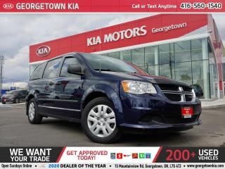 Used 2015 Dodge Grand Caravan CVP | 53K |TINTS | ECO| BUG DEFLECTOR| SIDE VISORS for sale in Georgetown, ON