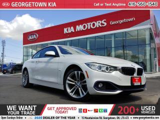 Used 2016 BMW 4 Series 428i xDrive | COUPE | SUNROOF | 72K | CLEAN CARFAX for sale in Georgetown, ON