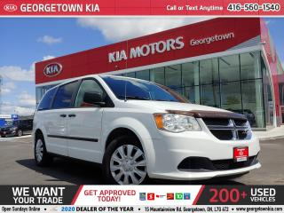Used 2015 Dodge Grand Caravan DUAL CLIMATE| ECO MODE| PWR GROUP| STOW N GO for sale in Georgetown, ON