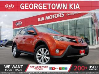 Used 2015 Toyota RAV4 LIMITED AWD  LTHR   ROOF  BU CAM   HTD SEATS ALLOY for sale in Georgetown, ON