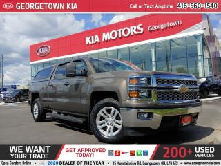 Used 2014 Chevrolet Silverado 1500 5.3L V8| B/TOOTH | BU CAM | TRAILER BRAKE| BOX CAP for sale in Georgetown, ON