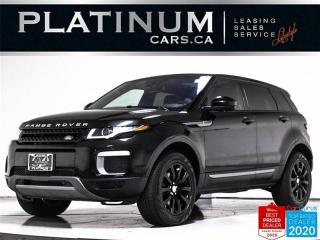 Used 2017 Land Rover Evoque SE AWD, NAV, PANO, CAM, BLUETOOTH, POWER TAILGATE for sale in Toronto, ON