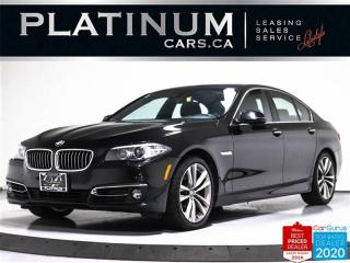 Used 2016 BMW 5 Series 535i xDrive AWD, NAV, SUNROOF, CAM, HEATED, KEYLES for sale in Toronto, ON