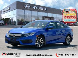 Used 2016 Honda Civic Sedan EX  - $118 B/W - Low Mileage for sale in Kanata, ON