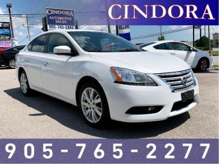 Used 2013 Nissan Sentra SL | NAV, Leather, Roof, Backup Cam for sale in Caledonia, ON