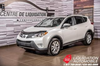 Used 2015 Toyota RAV4 LIMITED  for sale in Laval, QC