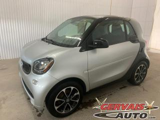 Used 2016 Smart fortwo Passion Mags A/C Bluetooth *Bas Kilométrage* for sale in Trois-Rivières, QC