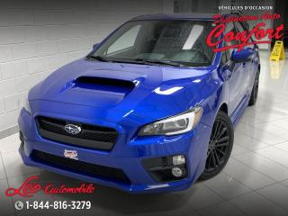 Used 2017 Subaru WRX Bolide Sport, boîte manuelle for sale in Chicoutimi, QC