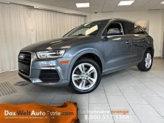 Used 2016 Audi Q3 Quattro, 2.0T Progressiv Toit, Automatique for sale in Sherbrooke, QC