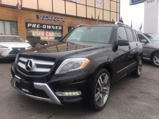Used 2015 Mercedes-Benz GLK-Class 4MATIC 4dr GLK 250 BlueTec/ AMG / NAVIGATION for sale in North York, ON