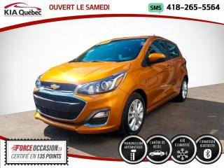 Used 2019 Chevrolet Spark 1LT* AUTOMATIQUE* CARPLAY* CAMERA* ON ST for sale in Québec, QC
