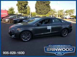 New 2020 Ford Fusion Hybrid Titanium for sale in Mississauga, ON