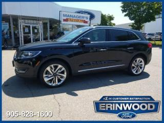 Used 2017 Lincoln MKX Reserve for sale in Mississauga, ON