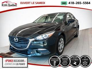 Used 2018 Mazda MAZDA3 GX* AUTOMATIQUE* A/C* BOUTON POUSSOIR* for sale in Québec, QC