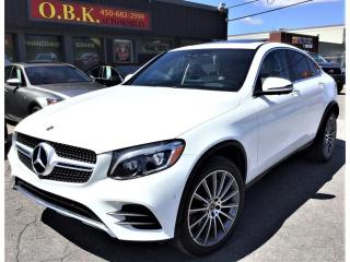 Used 2018 Mercedes-Benz GL-Class GLC 300 4MATIC Coupe-NAVIGATION-CAM RECUL 360- for sale in Laval, QC