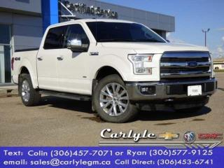 Used 2015 Ford F-150 Htd/ Cooled Leather for sale in Carlyle, SK