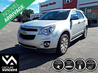 Used 2011 Chevrolet Equinox LTZ AWD ** GARANTIE 10 ANS ** Embarquez à bord de la version de luxe de l'Équinox! for sale in Shawinigan, QC