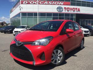 Used 2015 Toyota Yaris HB LE ** AUTO/AIR/VITRES** for sale in St-Eustache, QC