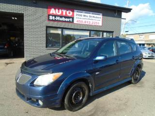 Used 2006 Pontiac Vibe for sale in St-Hubert, QC
