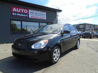 Used 2010 Hyundai Accent GL for sale in St-Hubert, QC