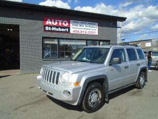 Used 2009 Jeep Patriot NORTH EDITION for sale in St-Hubert, QC
