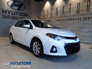 Used 2016 Toyota Corolla BAS KILO! S+CAMERA+A/C+BLUETOOTH+CRUISE for sale in Sherbrooke, QC