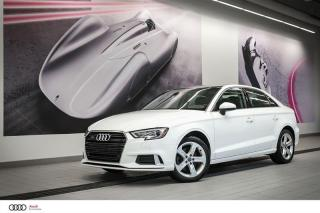 Used 2017 Audi A3 KOMFORT - 2.0 TFSI - AWD QUATTRO for sale in Sherbrooke, QC