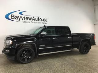 Used 2018 GMC Sierra 1500 Denali - 6.2L V8! HTD/COOLED LTHR! NAV! DVD! SUNROOF! LOADED! for sale in Belleville, ON