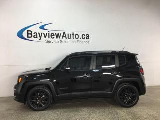 Used 2017 Jeep Renegade North - 30,000KMS! SKYVIEW ALTITUDE! for sale in Belleville, ON